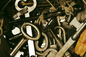 lots of keys